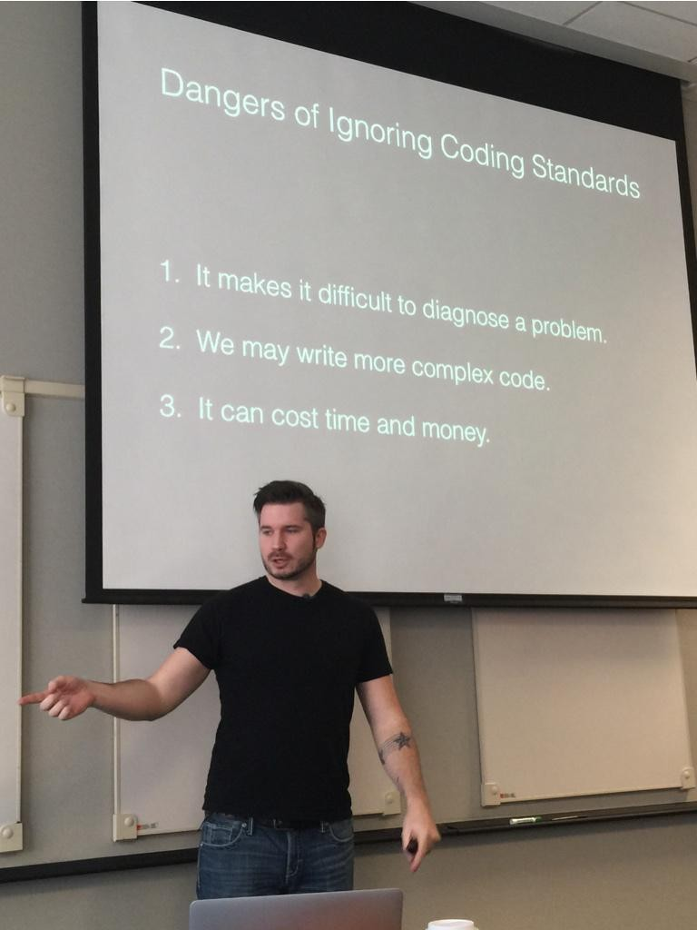 Following The WordPress Coding Standards