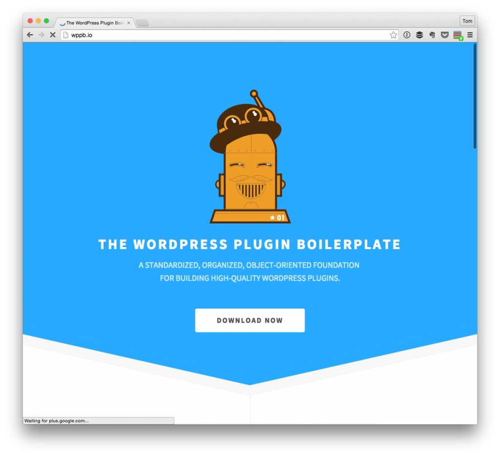 The WordPress Plugin Boilerplate Homepage