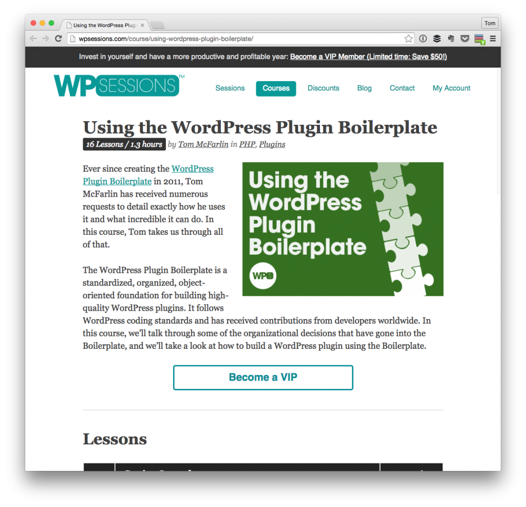 Using the WordPress Plugin Boilerplate
