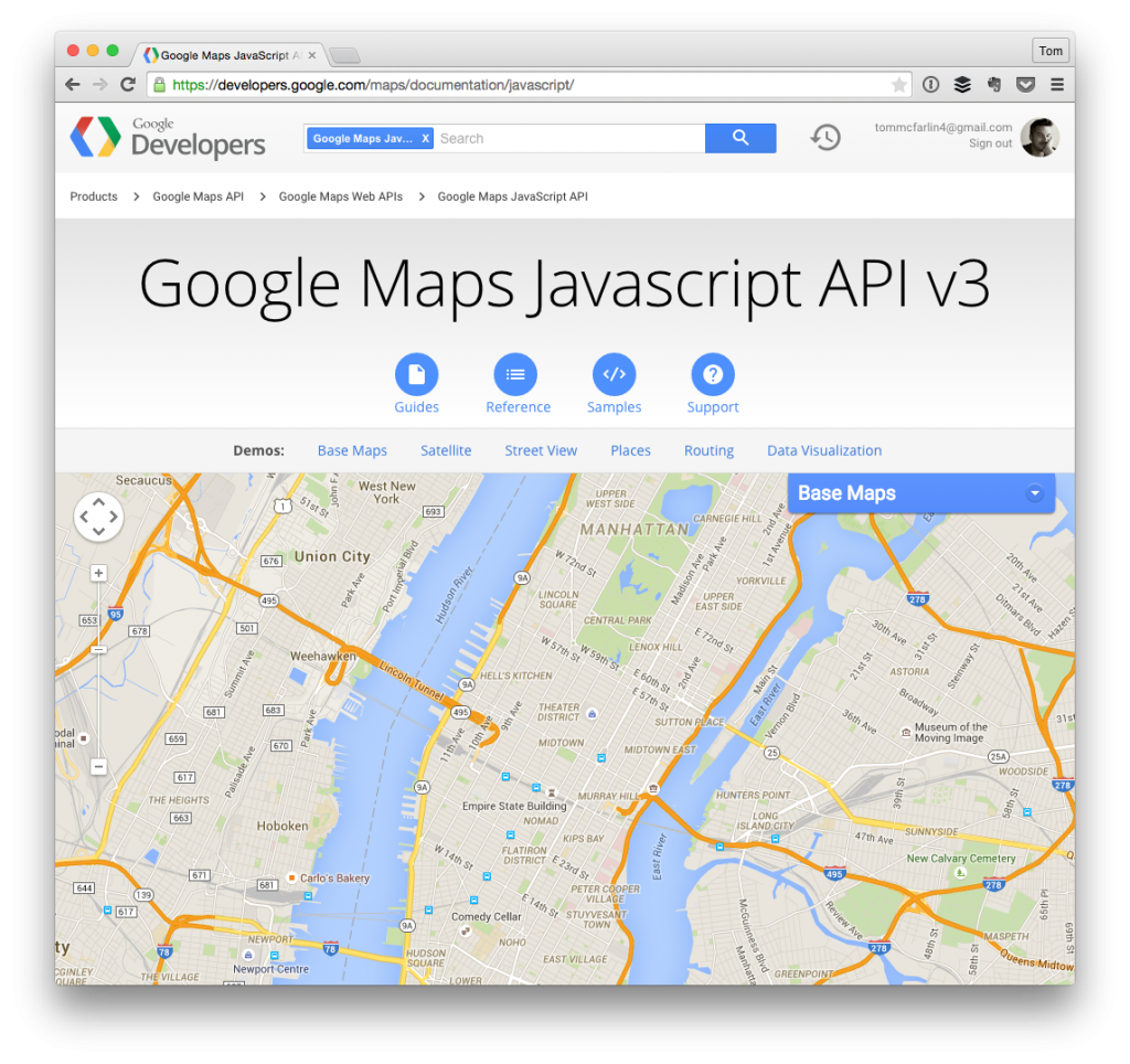 Disable scroll zoom in google maps tom mcfarlin tom mcfarlin the google maps javascript api gumiabroncs Gallery
