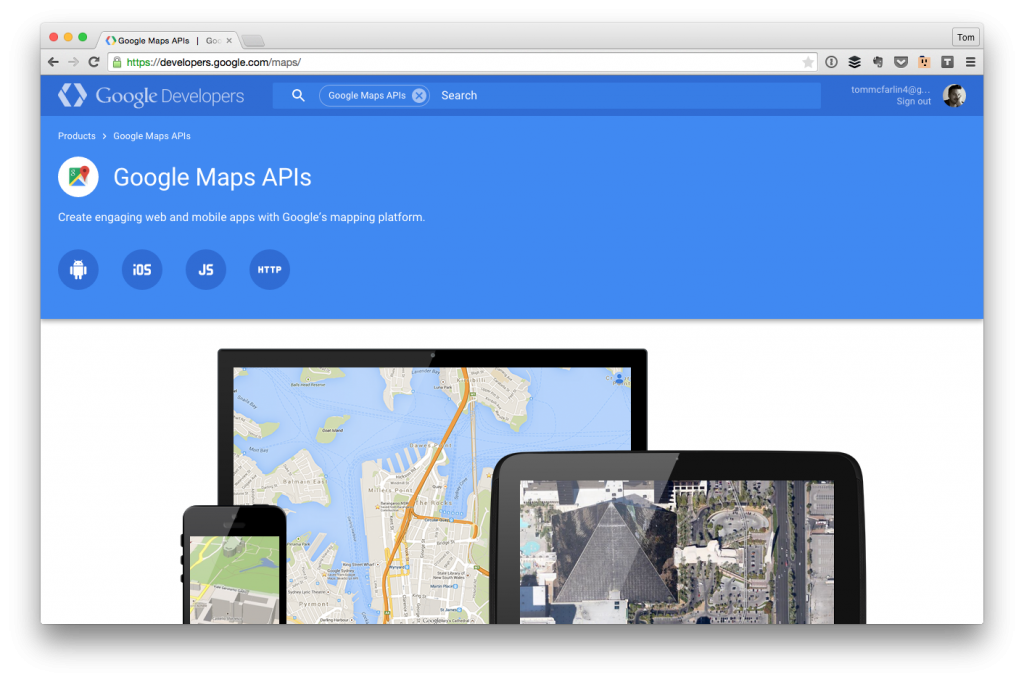 Using The Google Maps API and WordPress | Tom McFarlin