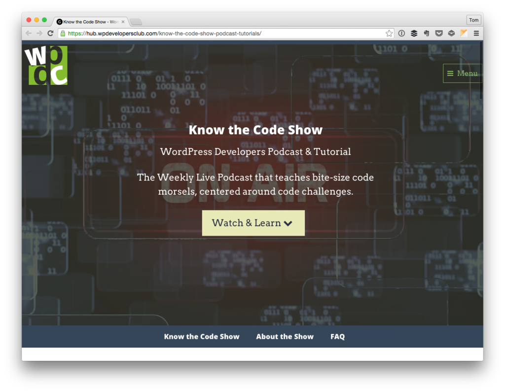 Know The Code Show