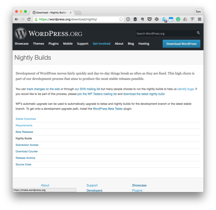 Make Working with WordPress Great Again