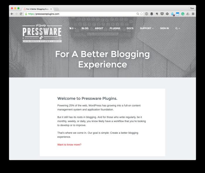Pressware Plugins
