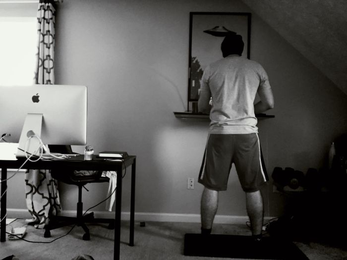 Developer Fitness: A Standing Desk