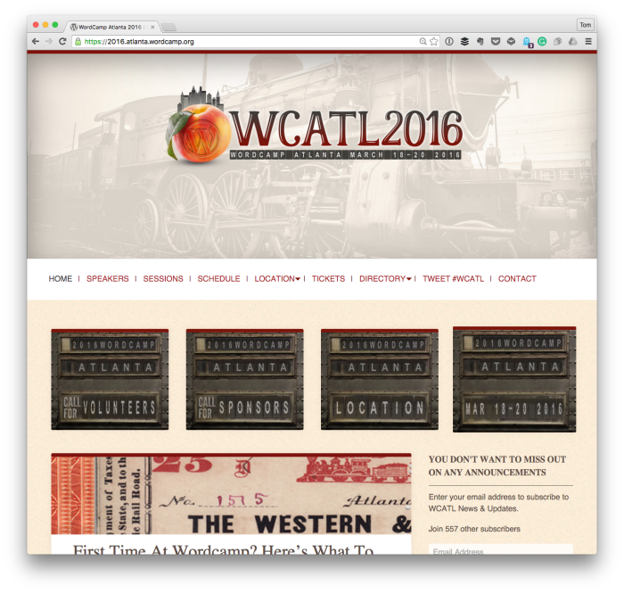 WordCamp Atlanta 2016