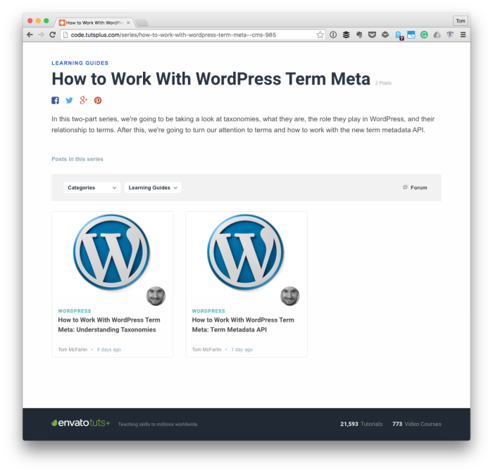 How to Work With WordPress Term Metadata