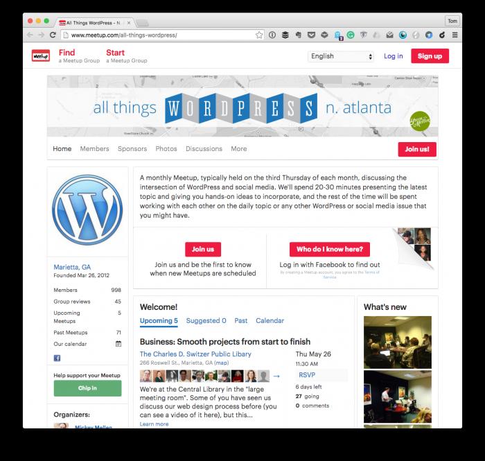 All Things WordPress North Atlanta