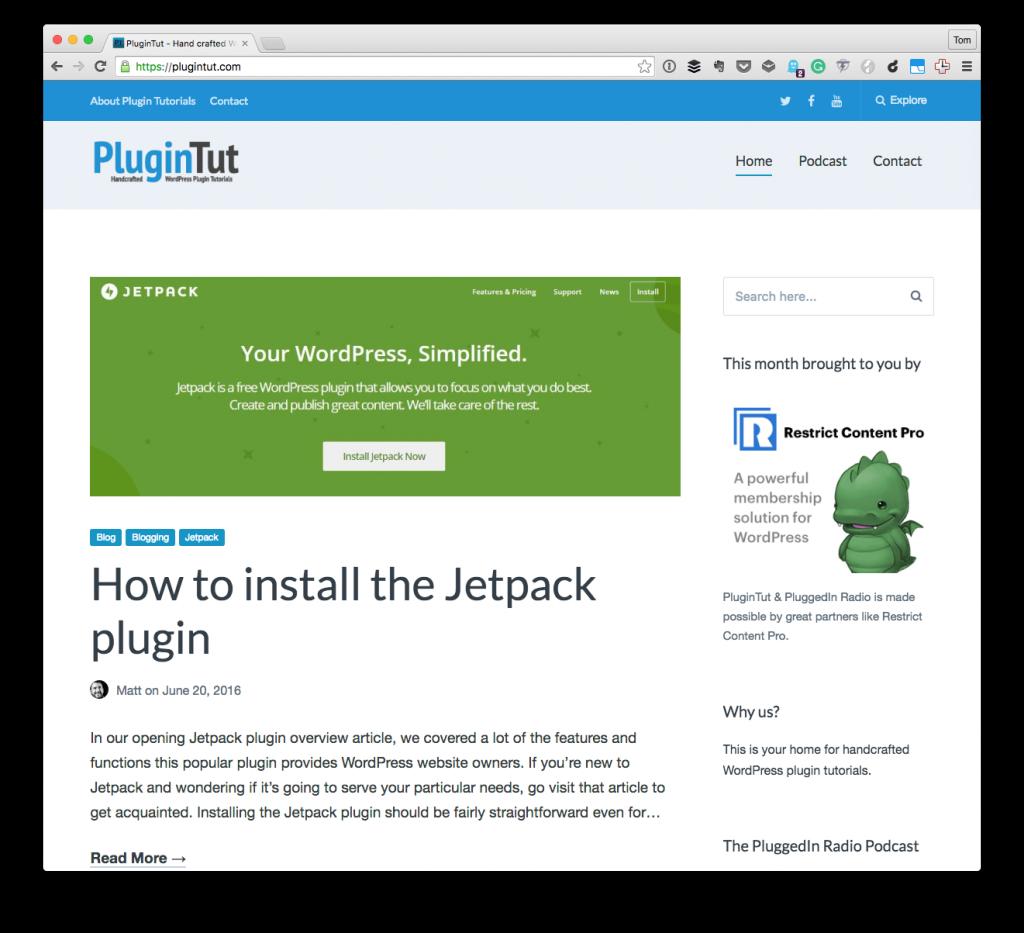 WordPress Tutorials - PluginTut.com