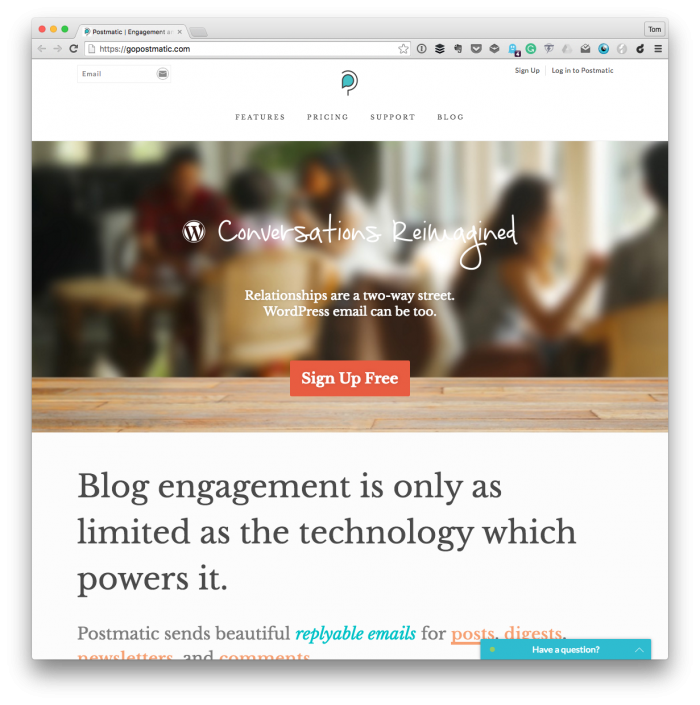 Postmatic for WordPress Comments
