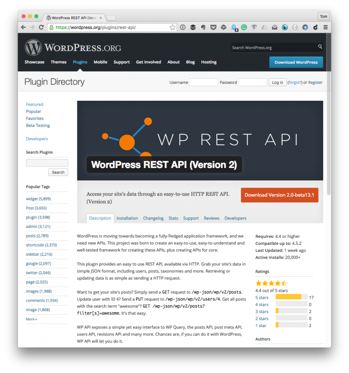 The Rest API: A WordPress Employee Benefit