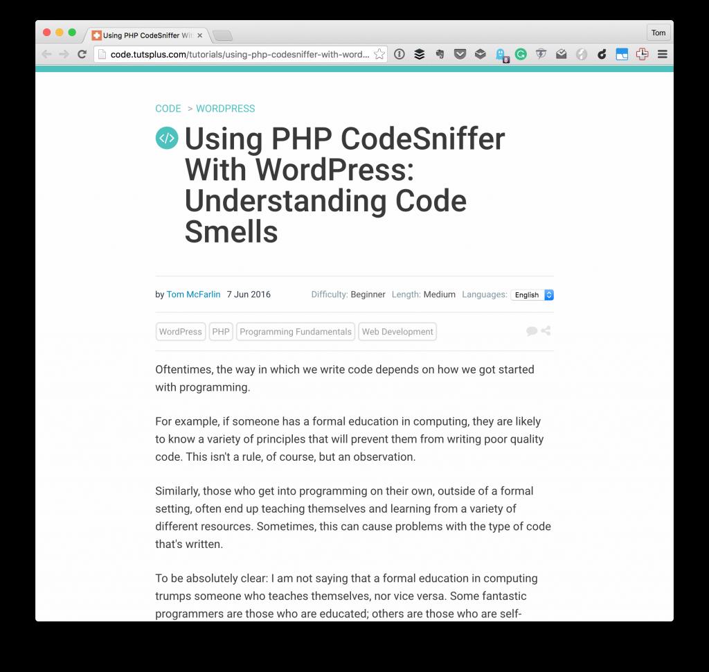 Understanding Code Smells