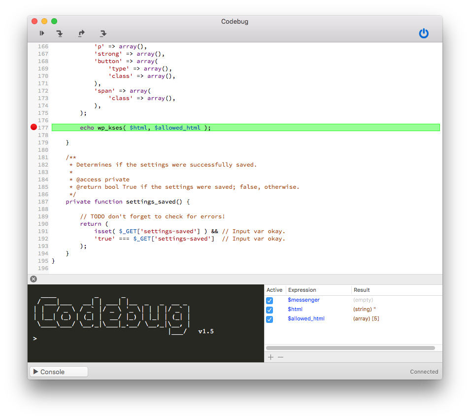 Xdebug with Pressmatic: Codebug