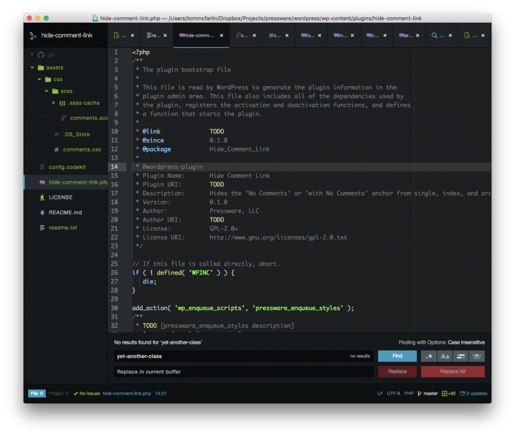 WordPress Tools: Atom For My Editor