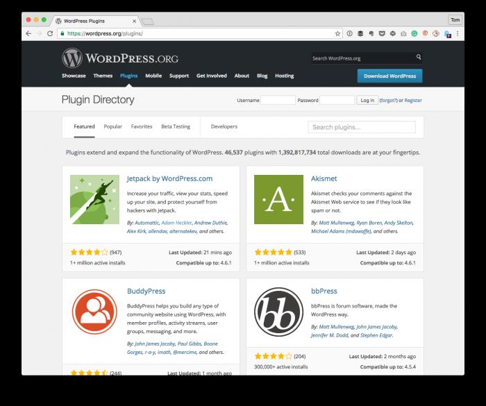 WordPress Plugin Design: WordPress Plugins