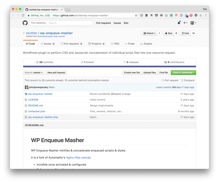 WordPress Resource Requests