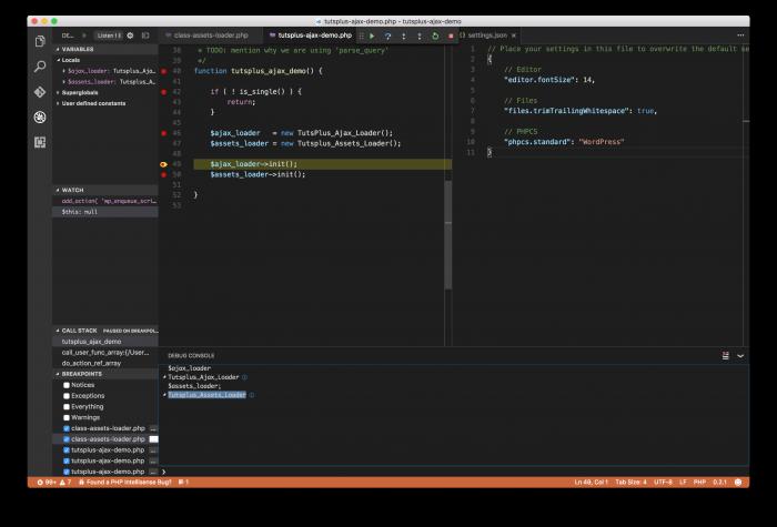 Using the VS Code Debugger