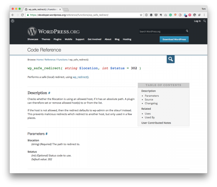 Custom WordPress Admin Redirect with wp_safe_redirect