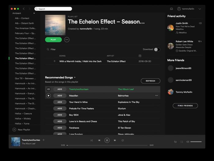 Spotify Playlists for Work, Volume 1