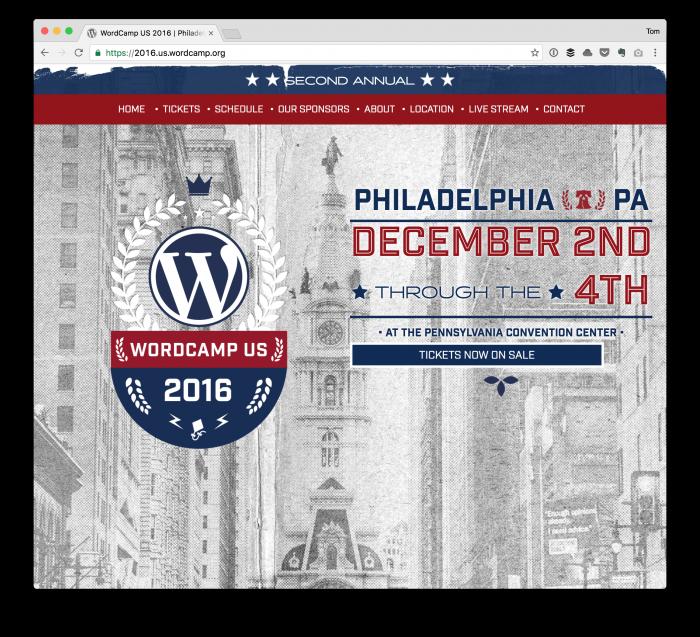 WordCamp US 2016