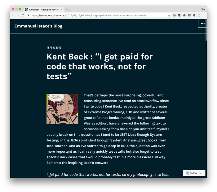 Code That Works