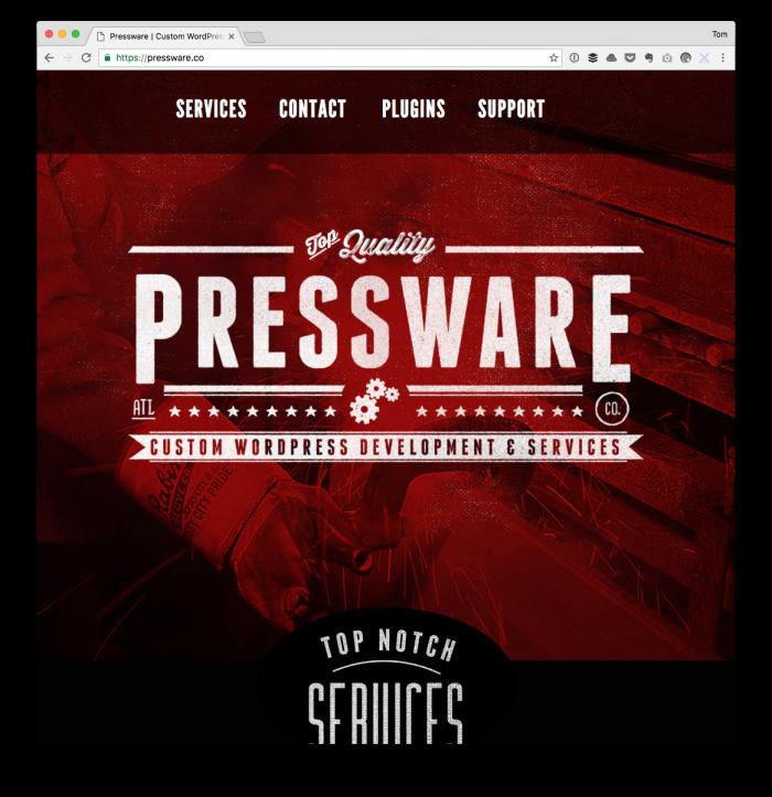 2017 Plans: Pressware