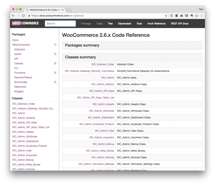 WooCommerce Integrations: WooCommerce Classes