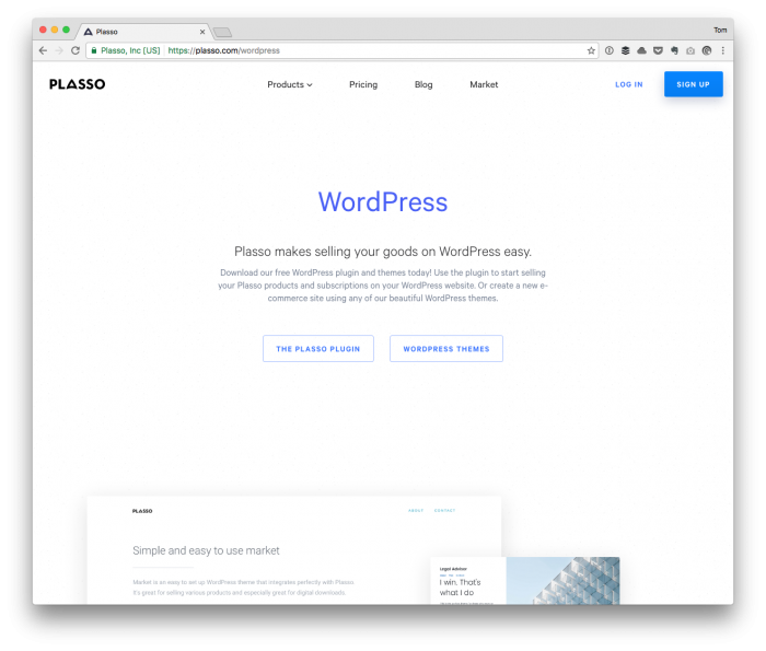 WordPress Payments with Plasso