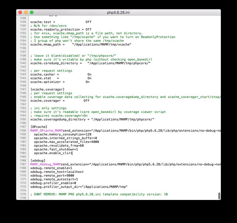 Xdebug and Visual Studio Code: php.ini