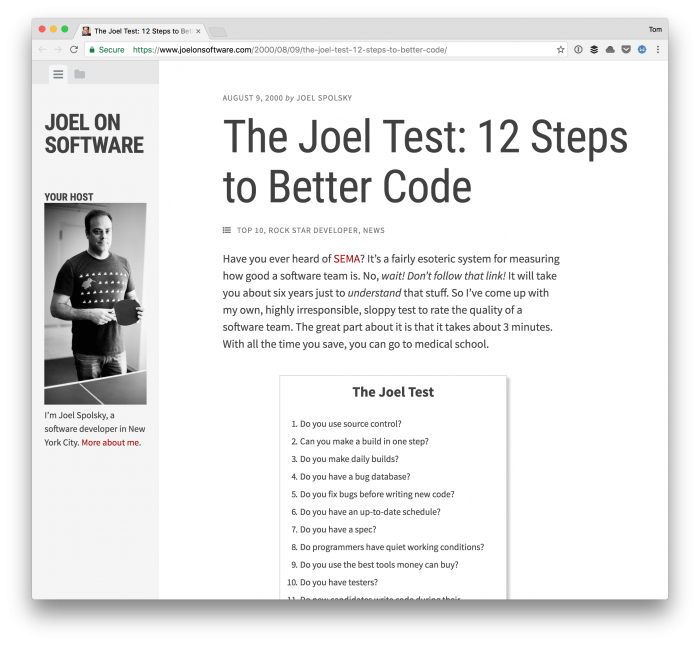 Writing Better Code