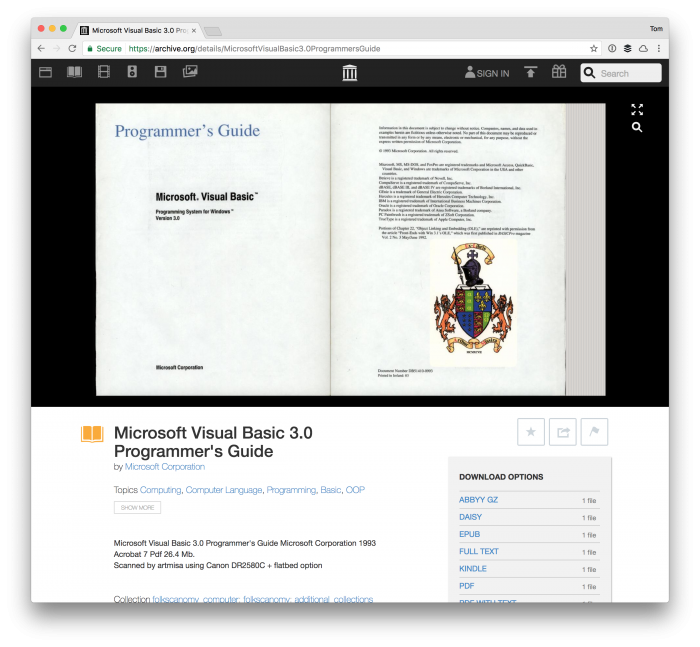 The Visual Basic 3 Programmer's Guide