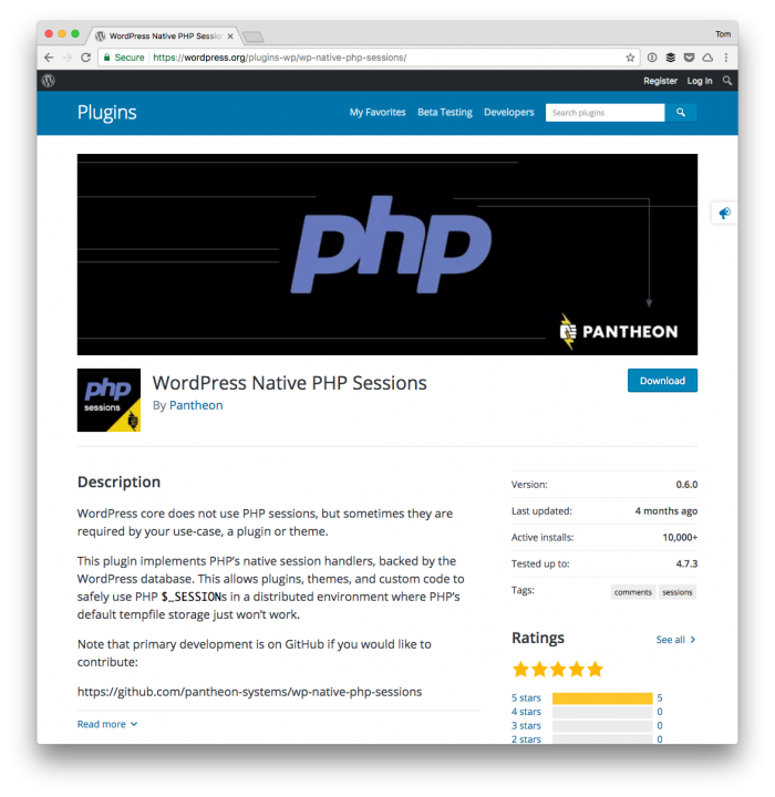 PHP Sessions and WordPress: WordPress Native PHP Sessions