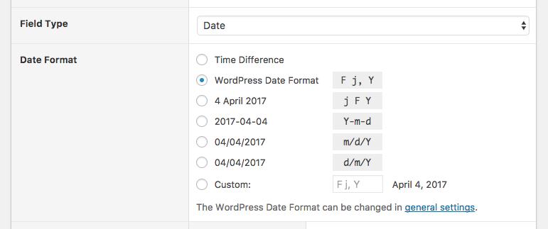 WordPress Admin Columns: Date Formatting
