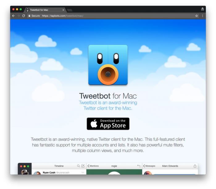 Social Media Strategy: TweetBot
