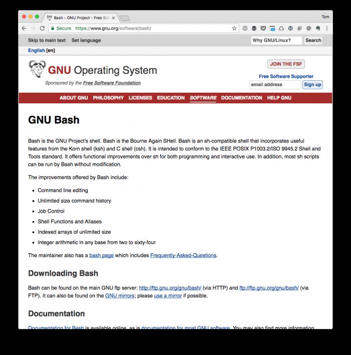 A Primer in Bash for WordPress Developers | Tom McFarlin