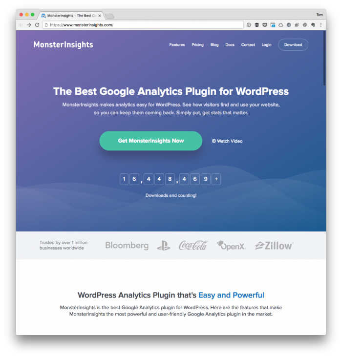WordPress Plugins I Use: MonsterInsights