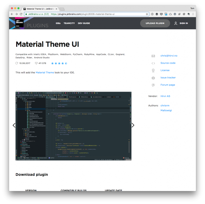 An Option for a PhpStorm WordPress Theme | Tom McFarlin