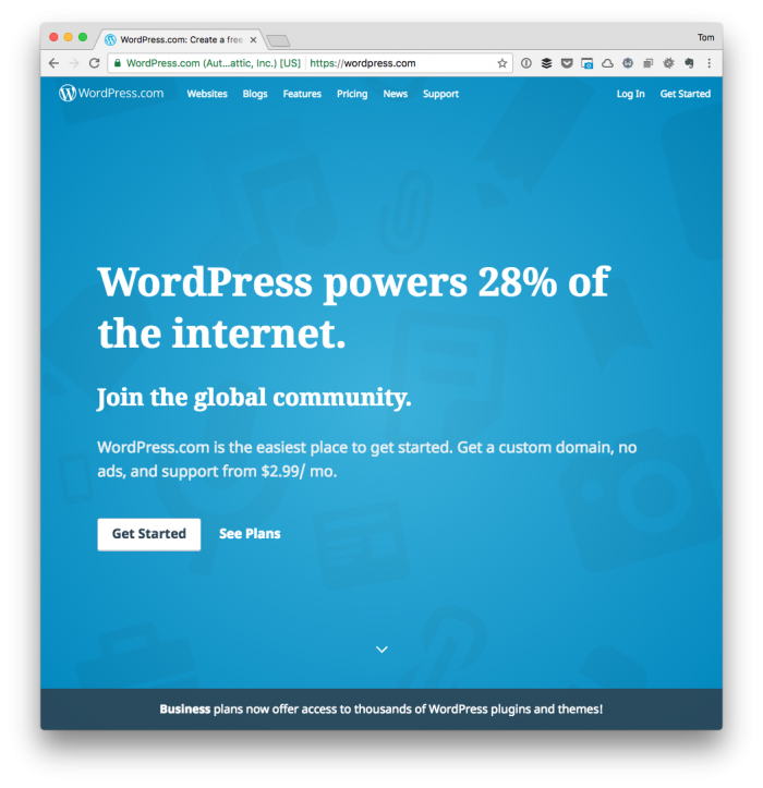 How I See WordPress: A Blogging Platform