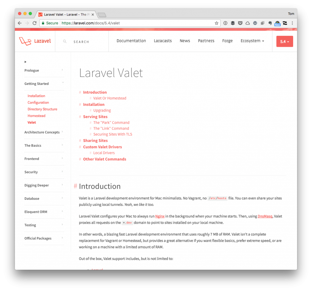 Fix Valet, WordPress, Ajax, Bad Gateway: Valet