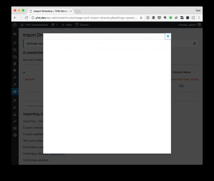 WordPress Modal Dialogs: Modal Dialog