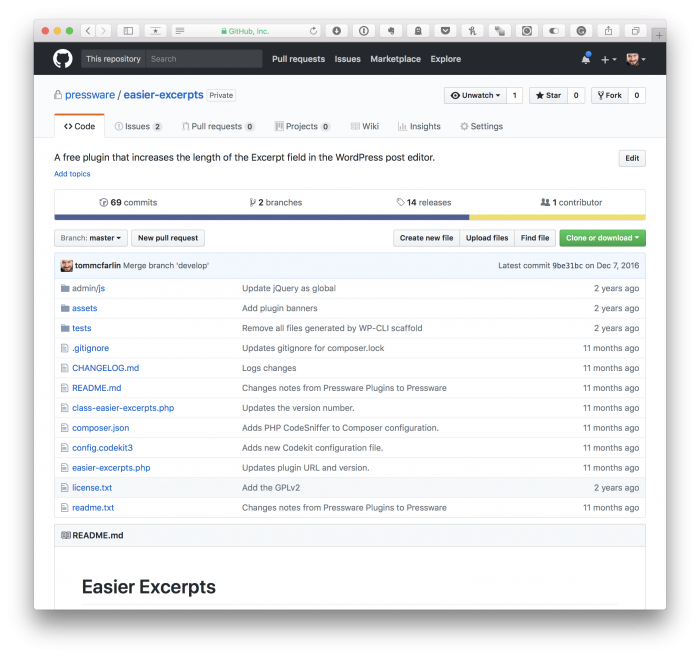 WordPress-Related Resources: GitHub