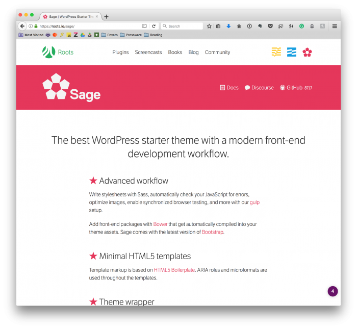 WordPress Templates: Sage