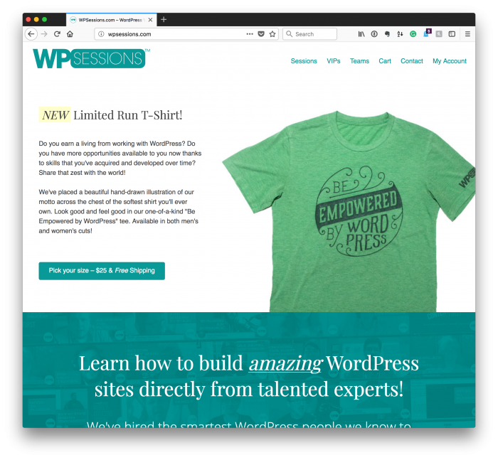 Musings of a Decade of WordPress: WPSessions