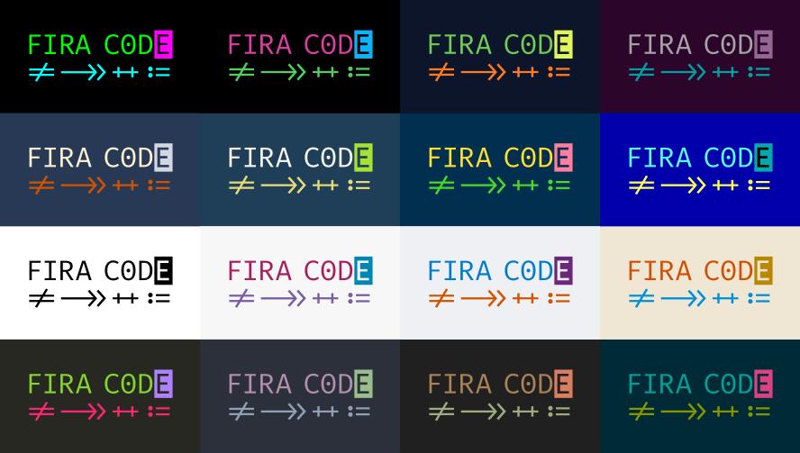 User Settings in Visual Studio Code: Ligatures