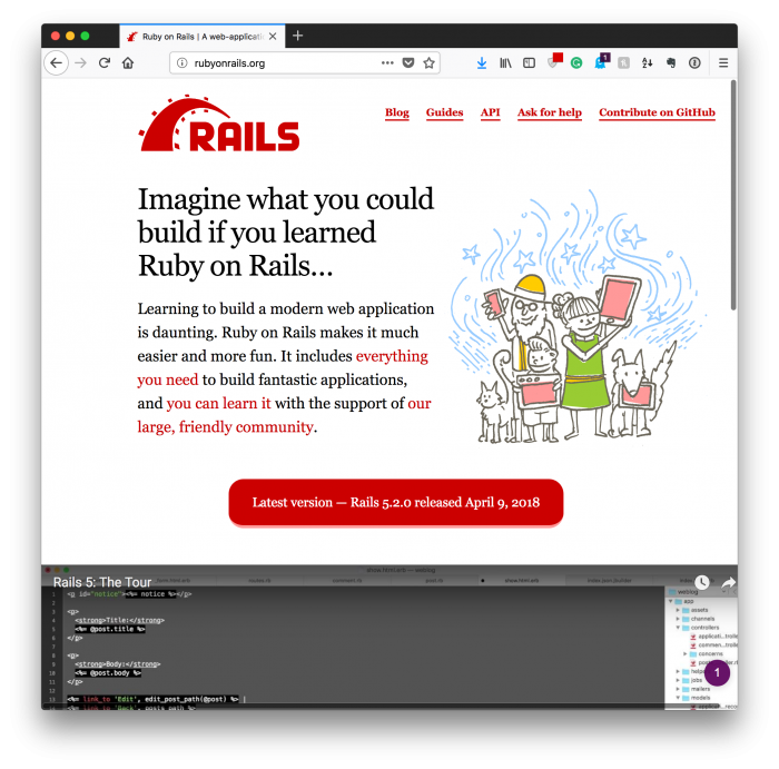 The New Thing: Rails