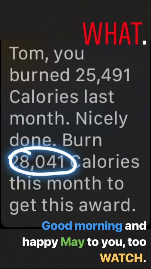 Fitness in 2018, Part 1: Calorie Burn