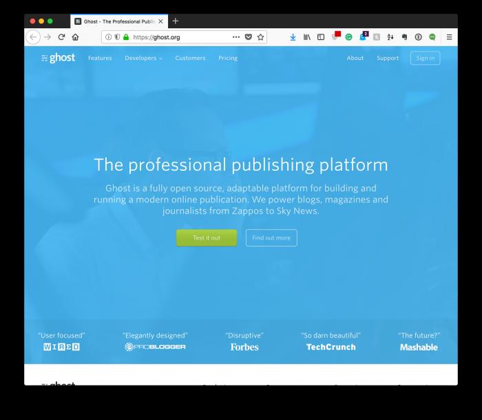 Amazing WordPress Jobs: Ghost