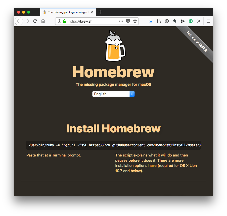 Independent WordPress Developer: Homebrew