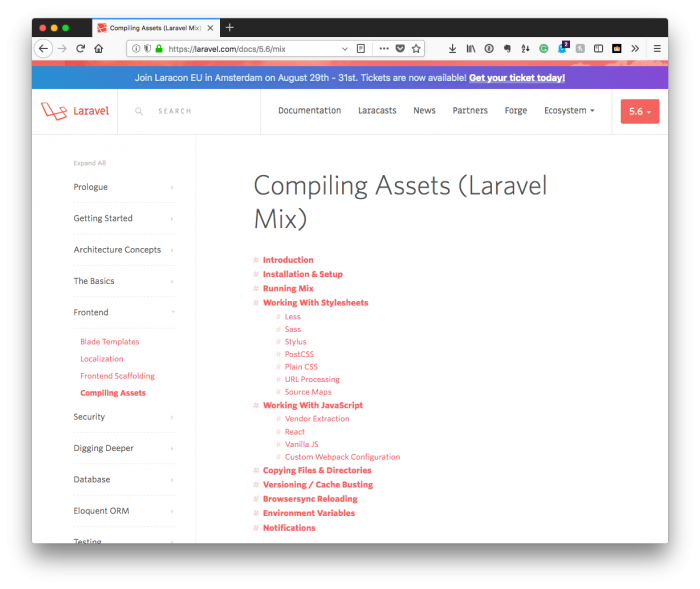 The Simplest Thing Possible: Laravel Mix