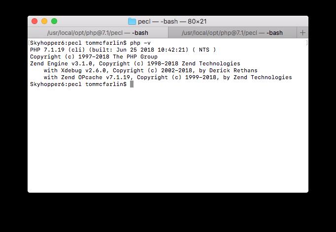 Installing Xdebug, Part 1: Xdebug Installed